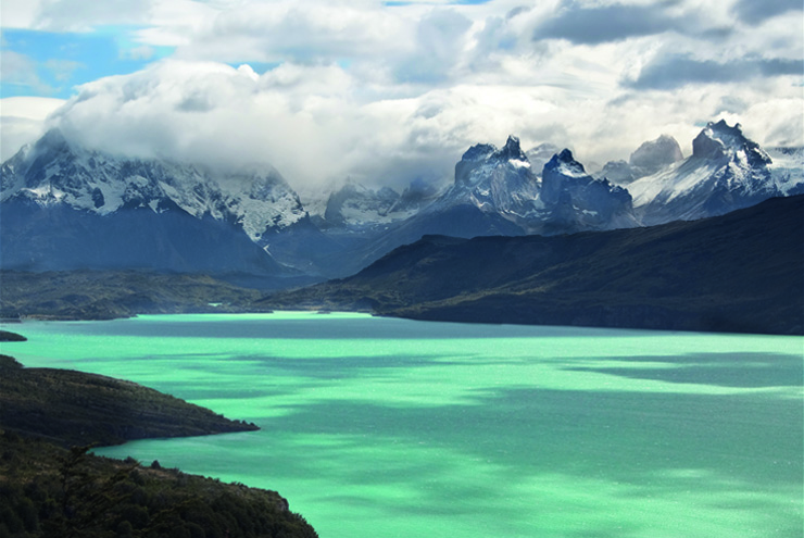 Top 10 cruise journey - Torres del Paine in Chilean Patagonia