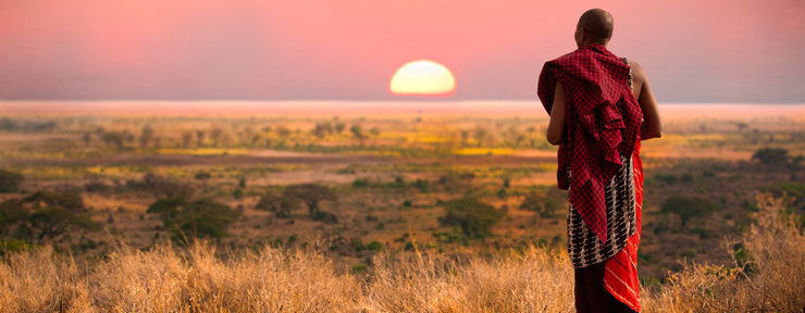 A day with the Maasai tribes of Kenya