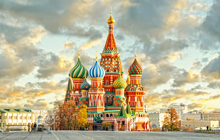 Russia - one of our best places to travel in 2017