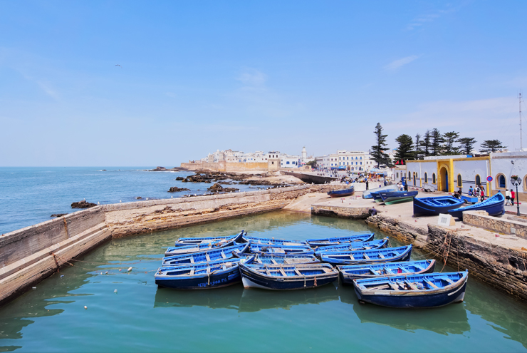New Year's Eve - Plan an activity filled celebration with a stay along the coast of Essaouira
