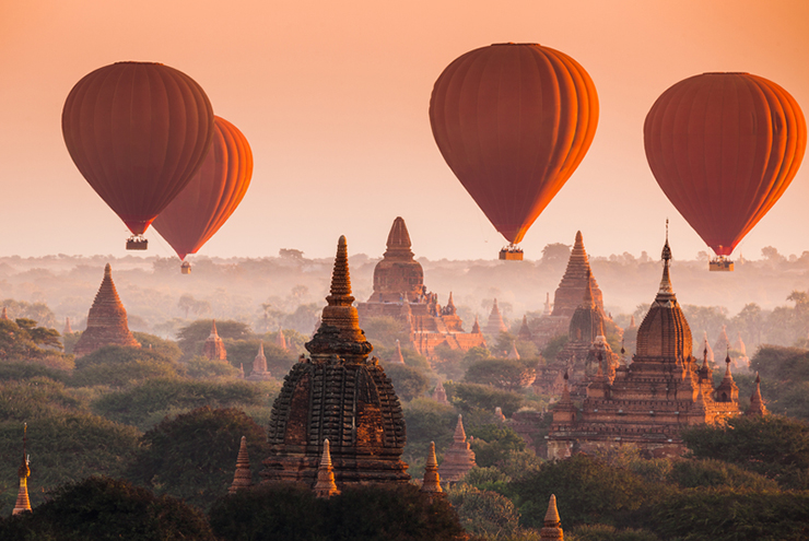 Myanmar - one of our best places to travel in 2017