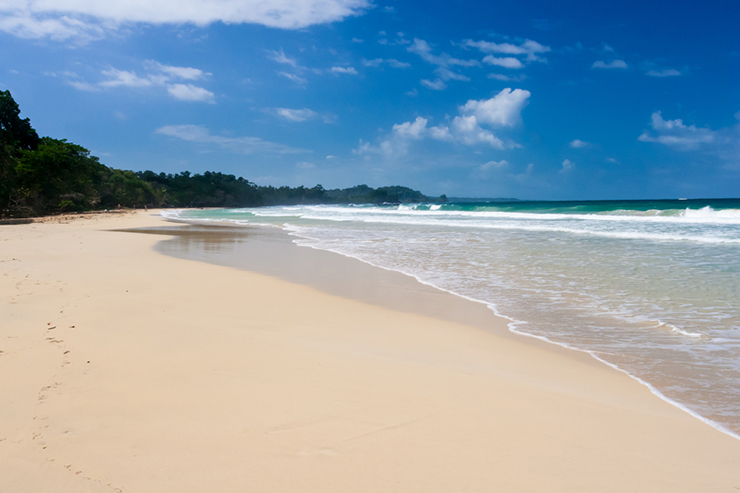 Isla Bastimentos in Panama is one of our top beach destinations in Central America
