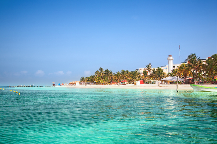 Isla Mujeres in Mexico is one of our top beach destinations in Central America