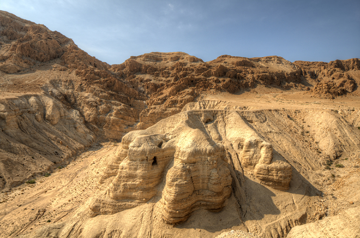 Qumran Caves - visiting the Dead Sea in Israel