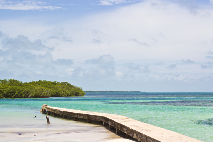 The Split in Belize is one of our top beach destinations in Central America