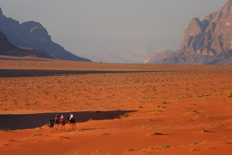 New Year's Eve - Escape the crowds of the city with a stay in the desert landscape of Wadi Rum