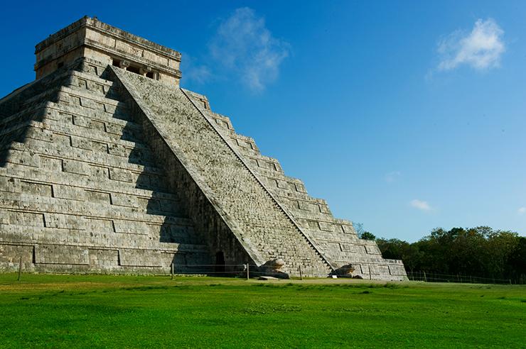 Chichen Itza, Mexico - archaelogical sites in Central America