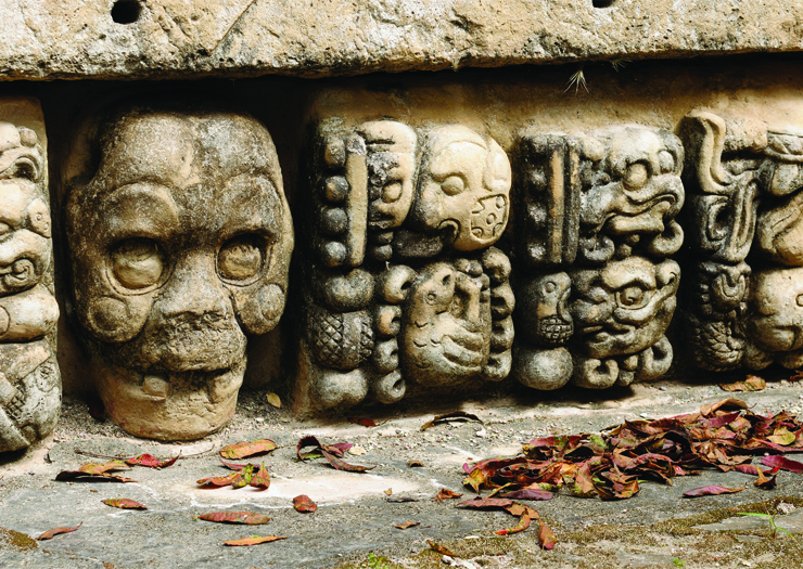 Copan - archaelogical sites in Central America