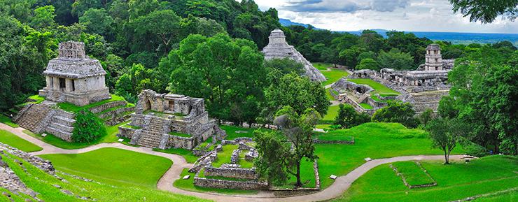 Palenque - archealogical sites Central America