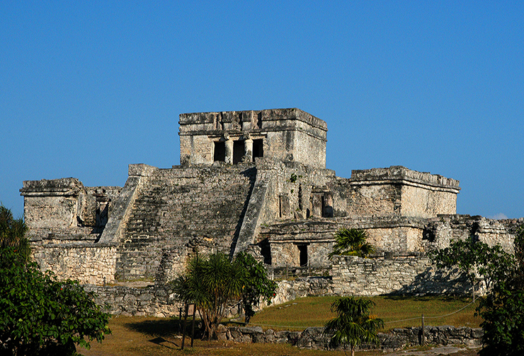 Tulum, Mexico - archaeological sites of Central America