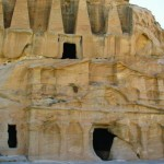 The ancient ruins of Petra