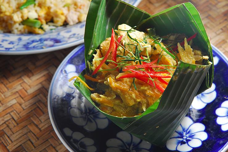 Fish Amok - Cambodian deliciousness