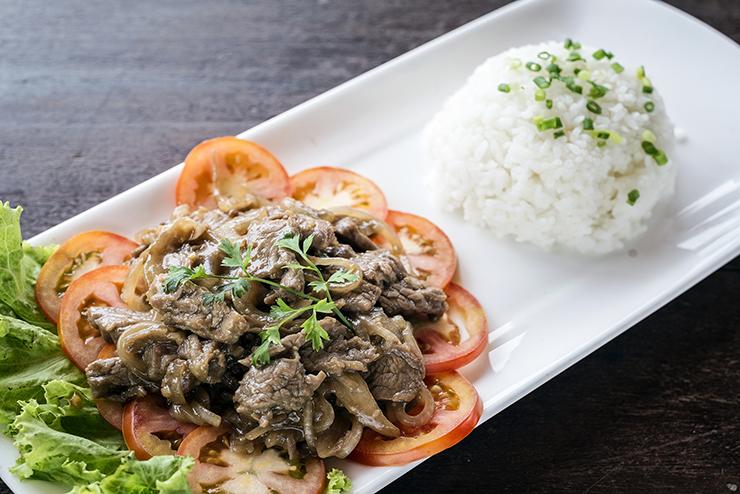 Lok lak - Cambodian deliciousness