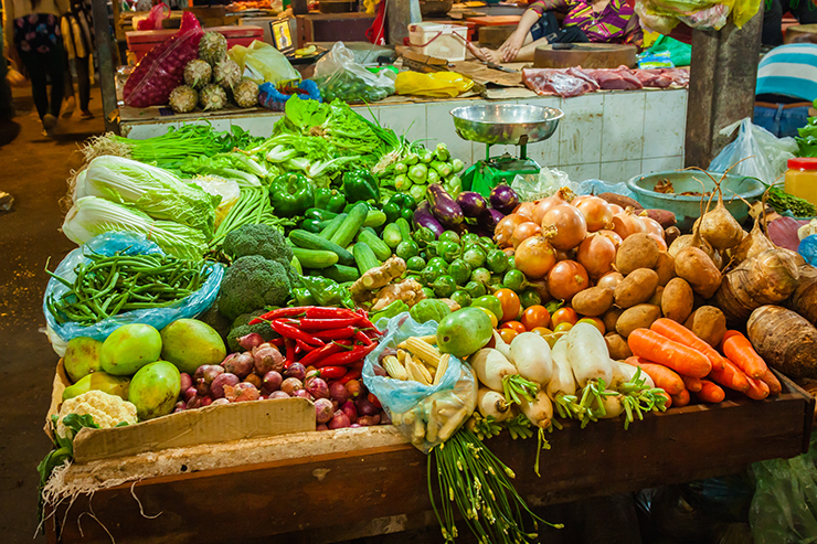Food market - Cambodian Deliciousness