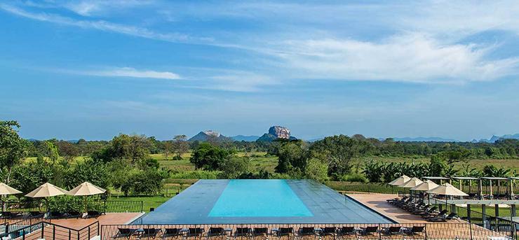 Rooms with a view - Aliya Resort Sigiriya Sri Lanka