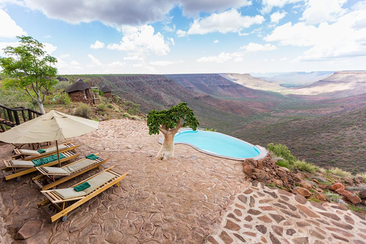Rooms with a view - Grootberg Lodge in Namibia