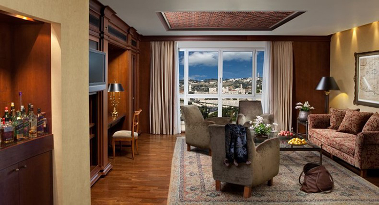Rooms with a view - King David Hotel Jerusalem