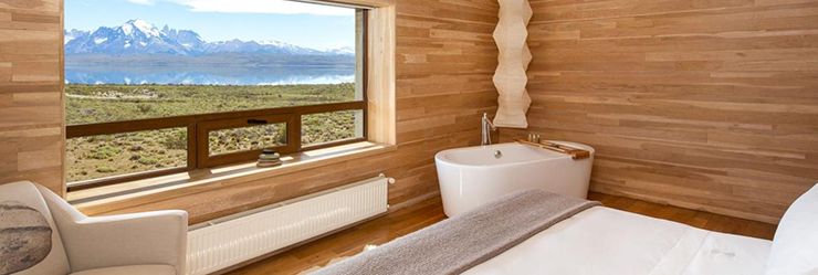 Rooms with a view - Tierra Patagonia Chile