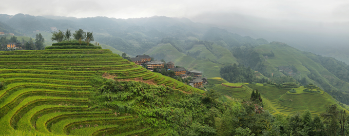 Visiting the Longsheng Rice Terraces in China
