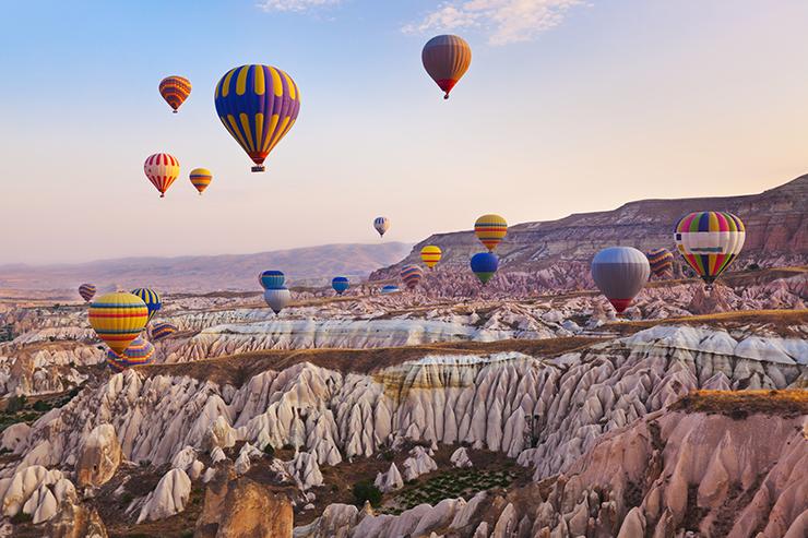 10 Interesting Facts About Cappadocia - hot air ballooning