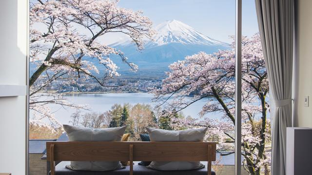 Rooms with a view - Hoshinoya Fuji, Japan