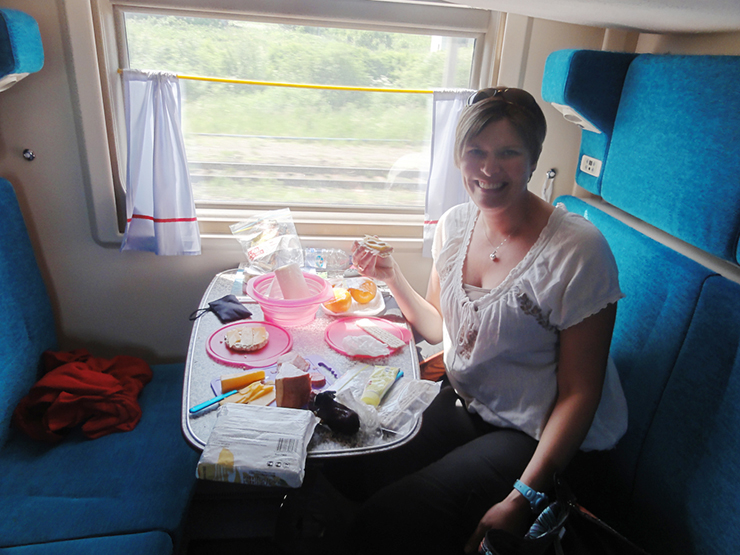 Life on board - highlights of the Trans-Siberian