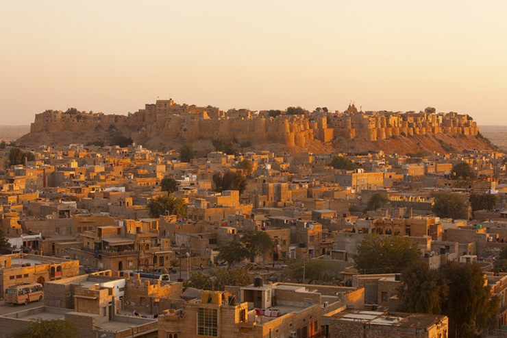 Top 5 architectural highlights of Rajasthan - Jaisalmer Fort