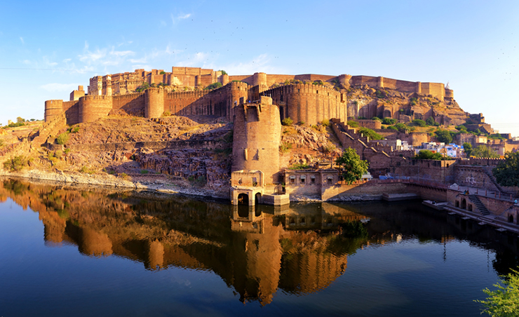 Top 5 architectural highlights of Rajasthan - Mehrangarh Fort in Jodhpur