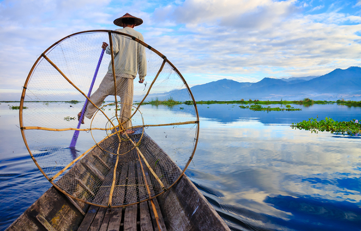 World's greatest lakes - Inle Lake in Myanmar