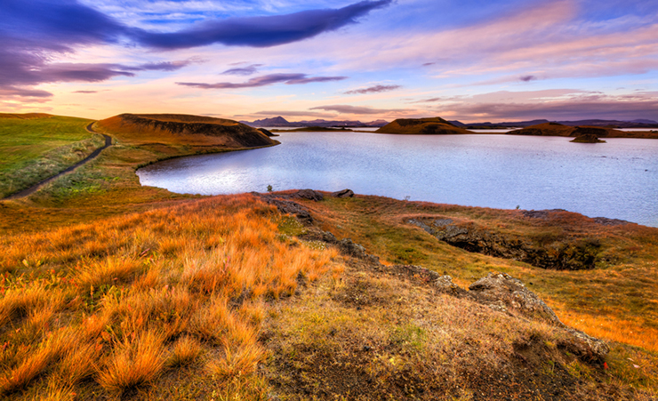 World's greatest lakes - Lake Myvatn in Iceland