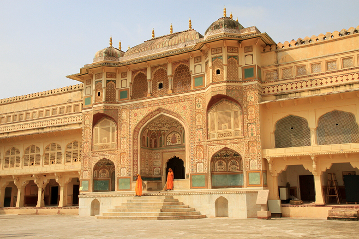 Top 5 architectural highlights of Rajasthan - Amber Fort in Jaipur