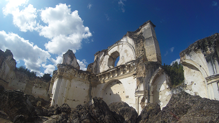 Ruins of La Recoleccion - How to spend a day in Antigua