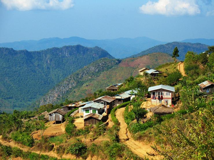 Best trekking destinations in Asia - Myanmar