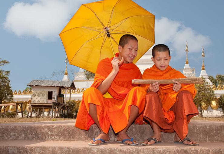 World's cheeriest destinations - Laos