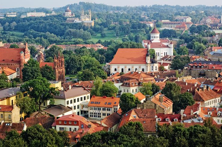 Top UNESCO sites in Europe - Vilnius in Lithuania