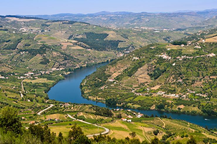 Top UNESCO sites in Europe - Douro Wine region in Portugal