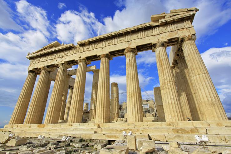 Top UNESCO sites in Europe - Acropolis in Greece