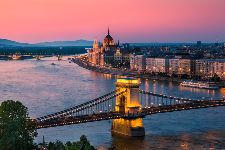 Top UNESCO sites in Europe - Budapest in Hungary