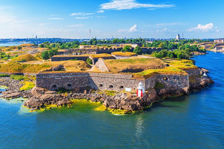 Top UNESCO sites in Europe - Fortress of Suomenlinna in Finland