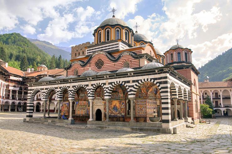 Top UNESCO sites in Europe - Rila Monastery in Bulgaria