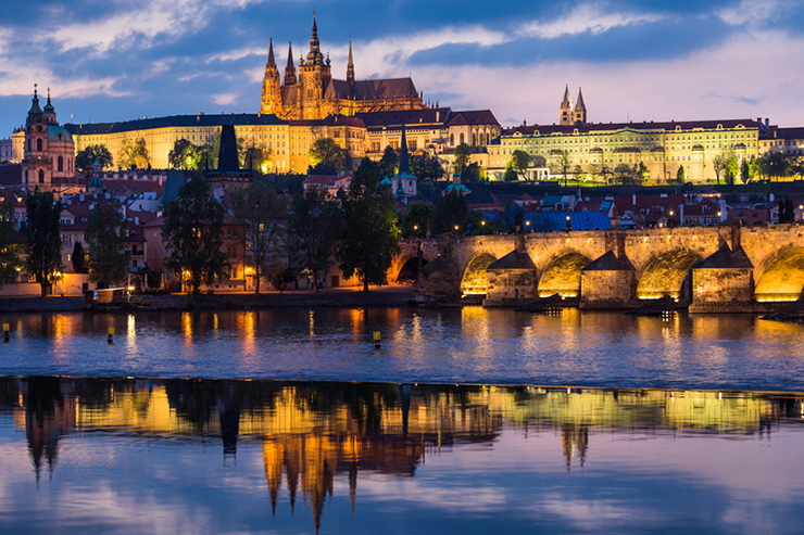 Top UNESCO sites in Europe - Prague in Czech Republic