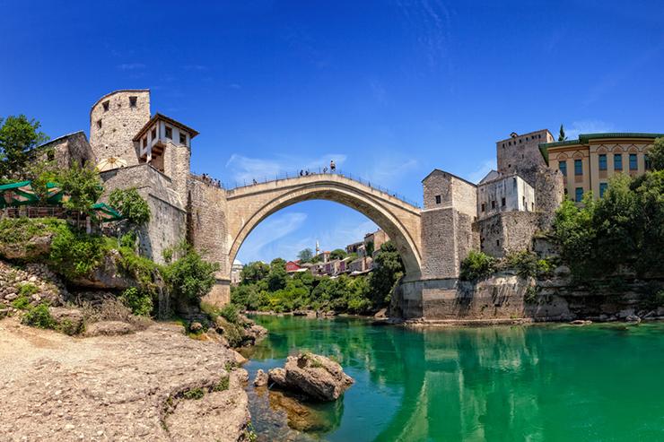 Top UNESCO sites in Europe - Mostar in Bosnia and Herzegovina