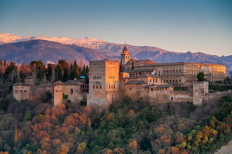 Top UNESCO sites in Europe - Alhambra in Spain