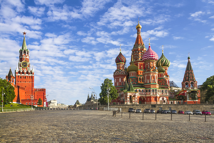 Top UNESCO sites in Europe - Red Square in Kremlin
