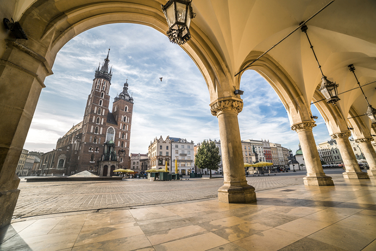 Top UNESCO sites in Europe - Krakow in Poland