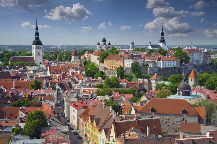 Top UNESCO sites in Europe - Tallinn in Estonia
