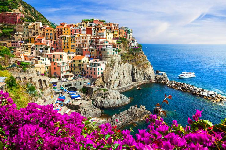 Top UNESCO sites in Europe - Cinque Terre in Italy