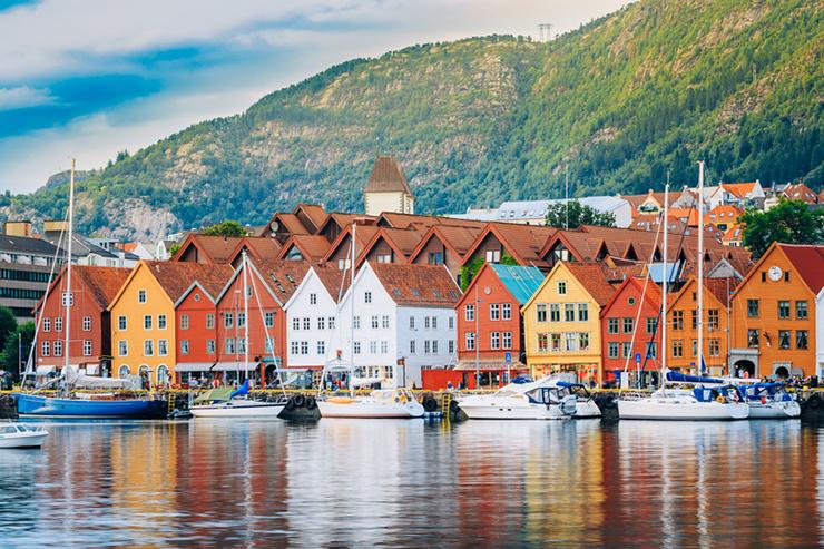 Top UNESCO sites in Europe - Bryggen in Norway