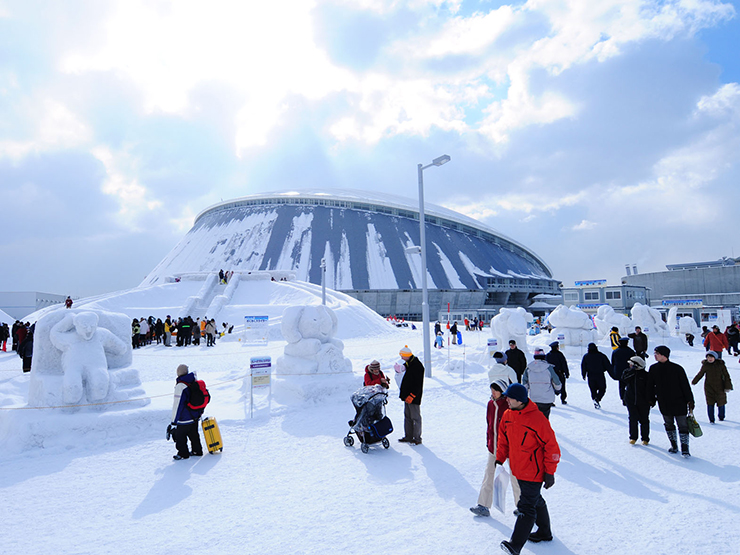 The Sapporo Snow Festival on Hokkaido island is one great reason to visit Japan in winter