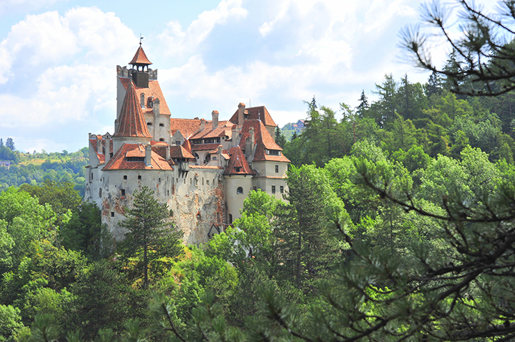 Bran Castle - best places to celebrate Halloween